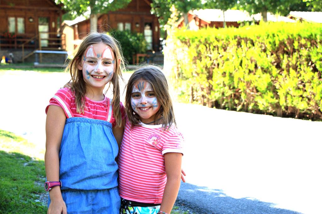 Acambar con niños en Nou Camping